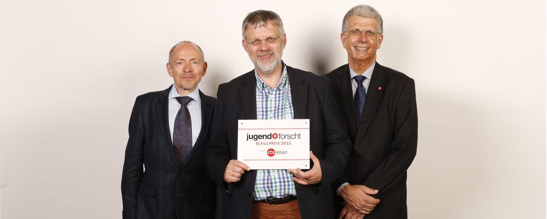 GAG Erhält Jugend-forscht-Schulpreis 2015