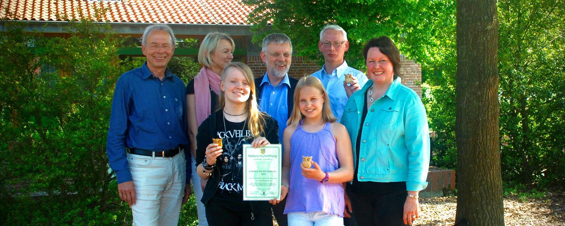 Umweltschutzpreis Des Landkreises Für GAG-Projekt