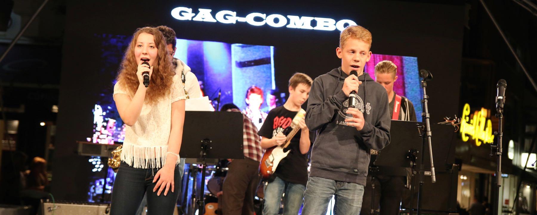 Gelungener Auftritt Der GAG-COMBO