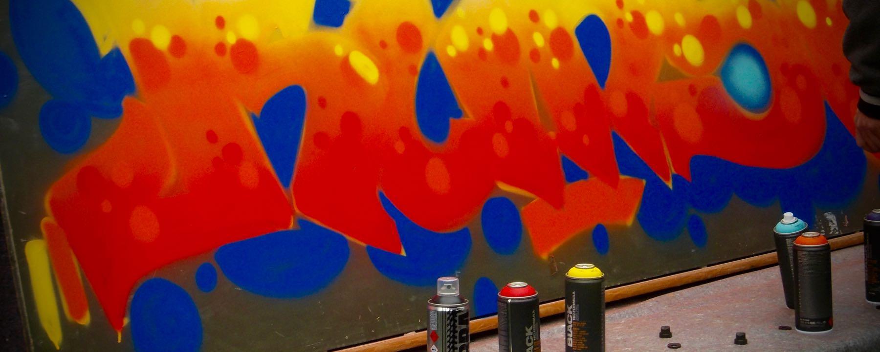 Grafitti Im Kunstunterricht An Der GAG