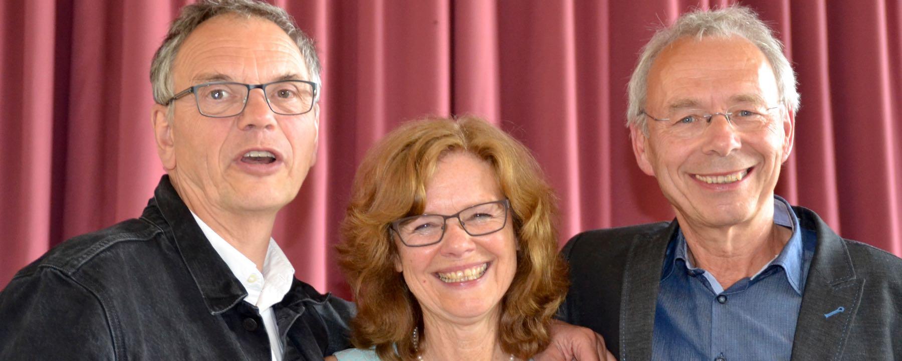 Drei Kollegen In Den Ruhestand Verabschiedet