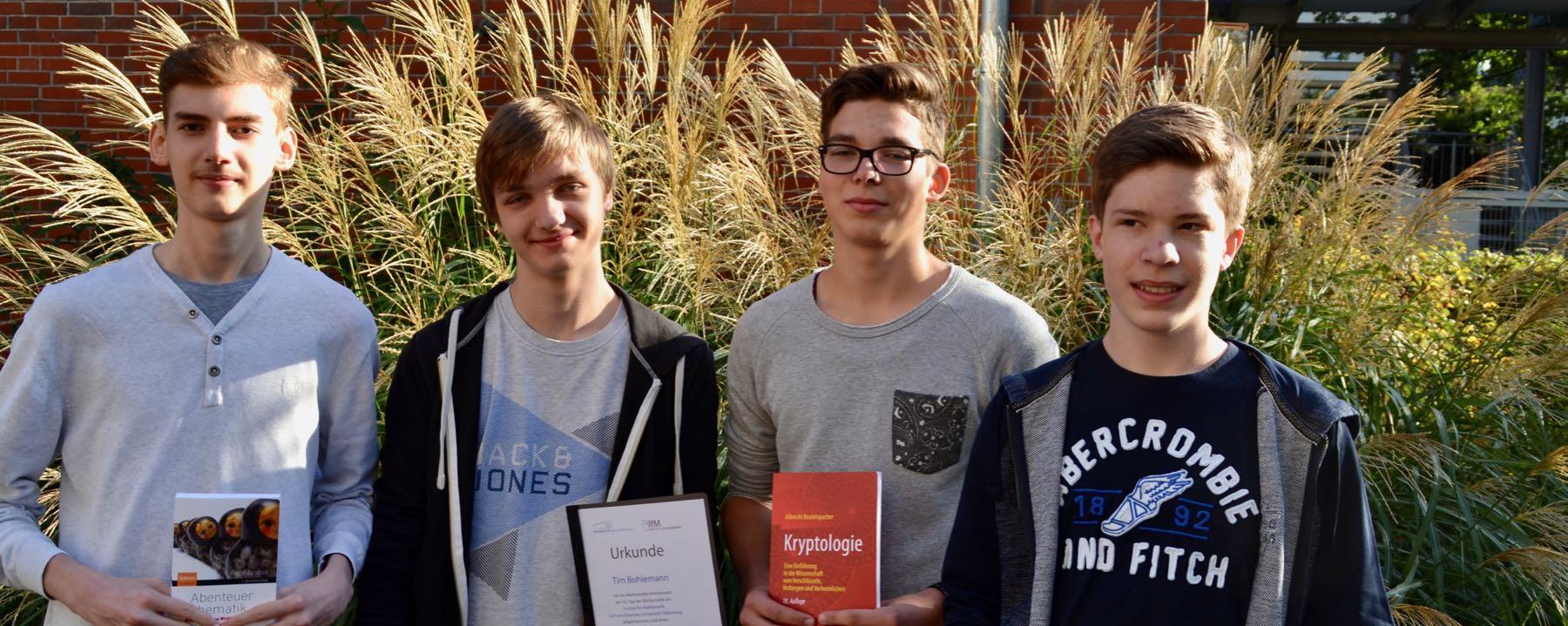 Erster Platz Für GAG-Schüler Am Tag Der Mathematik