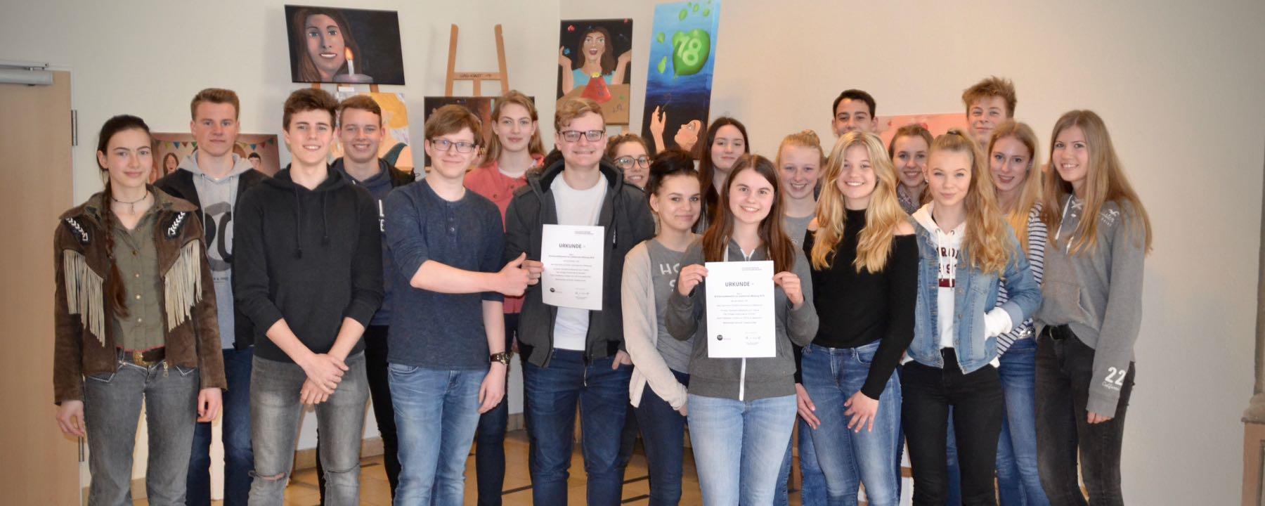 """""""Kleidervorschriften An Der Graf Anton Günther-Schule?""""– 10D Gewinnt Schülerwettbewerb Für Politische Bildung"""