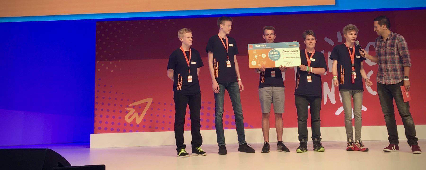 2017 08 10 GAG Schüler Gewinnen Ideenfang Wettbewerb – 1 Von 4