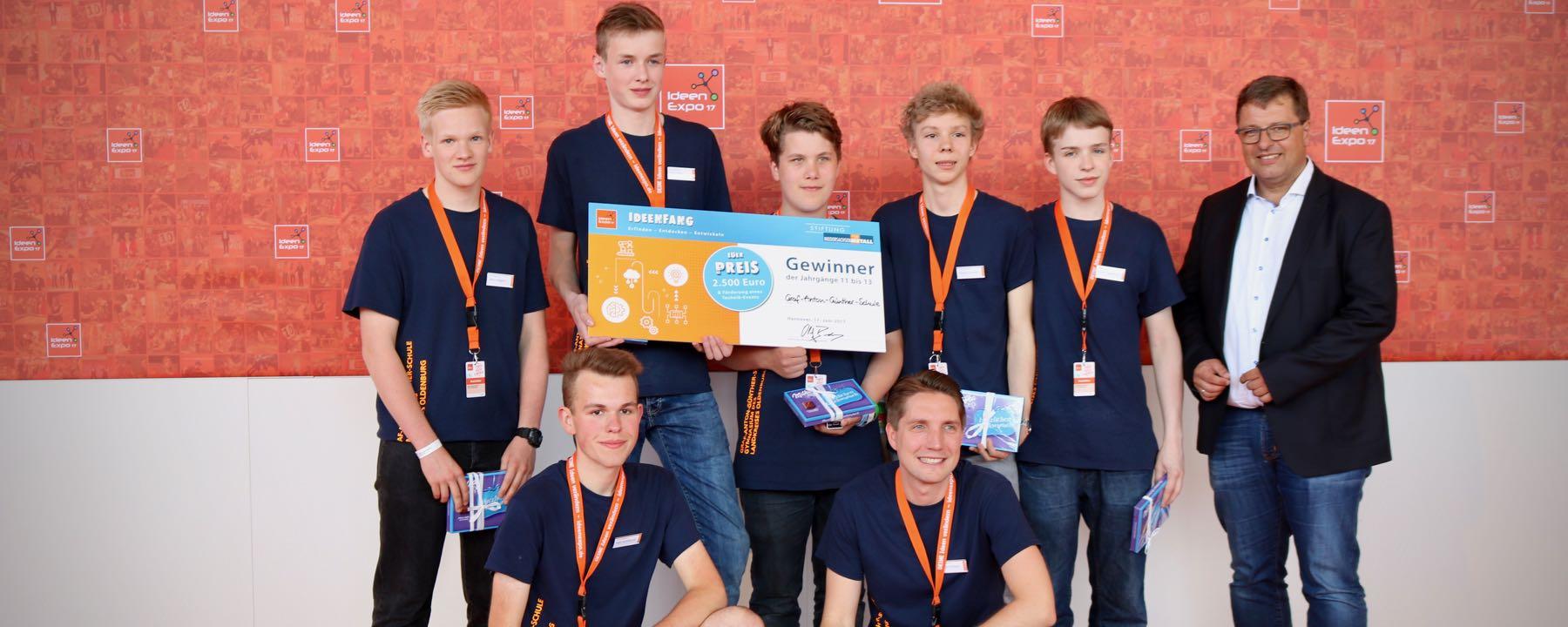 2017 08 10 GAG Schüler Gewinnen Ideenfang Wettbewerb – 3 Von 4