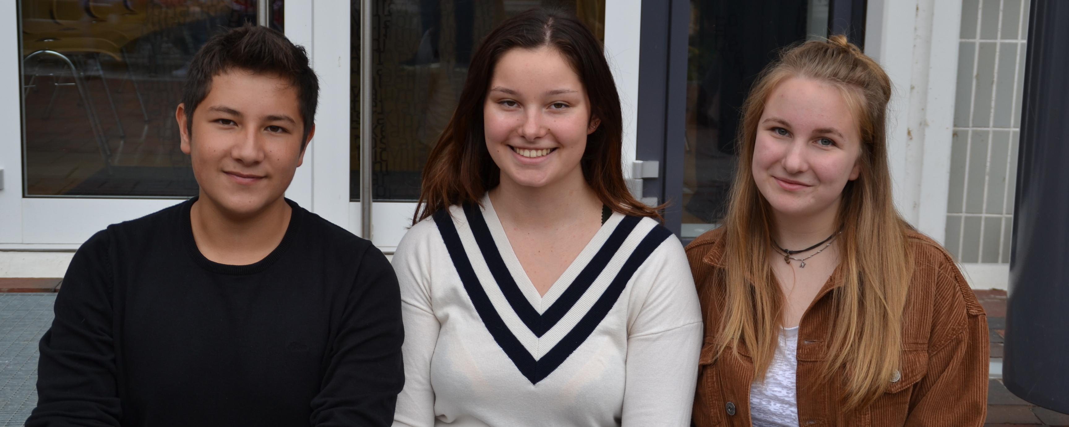 Neue Schülersprecher