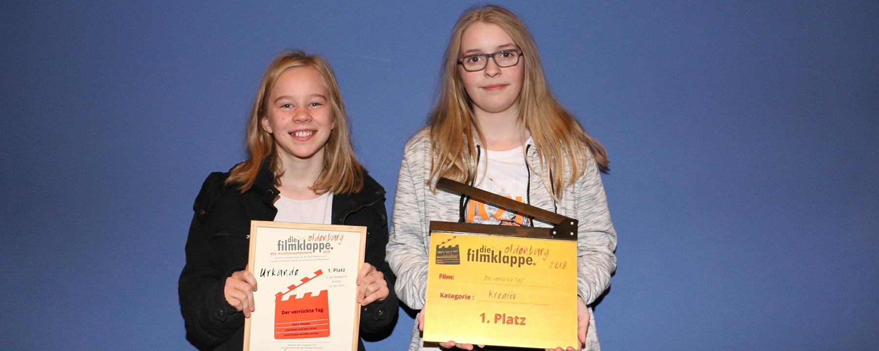 Trickfilm Von Lea Eiselt Und Und Nora Groß Gewinnt Schülerfilmwettbewerb Filmklappe Oldenburg