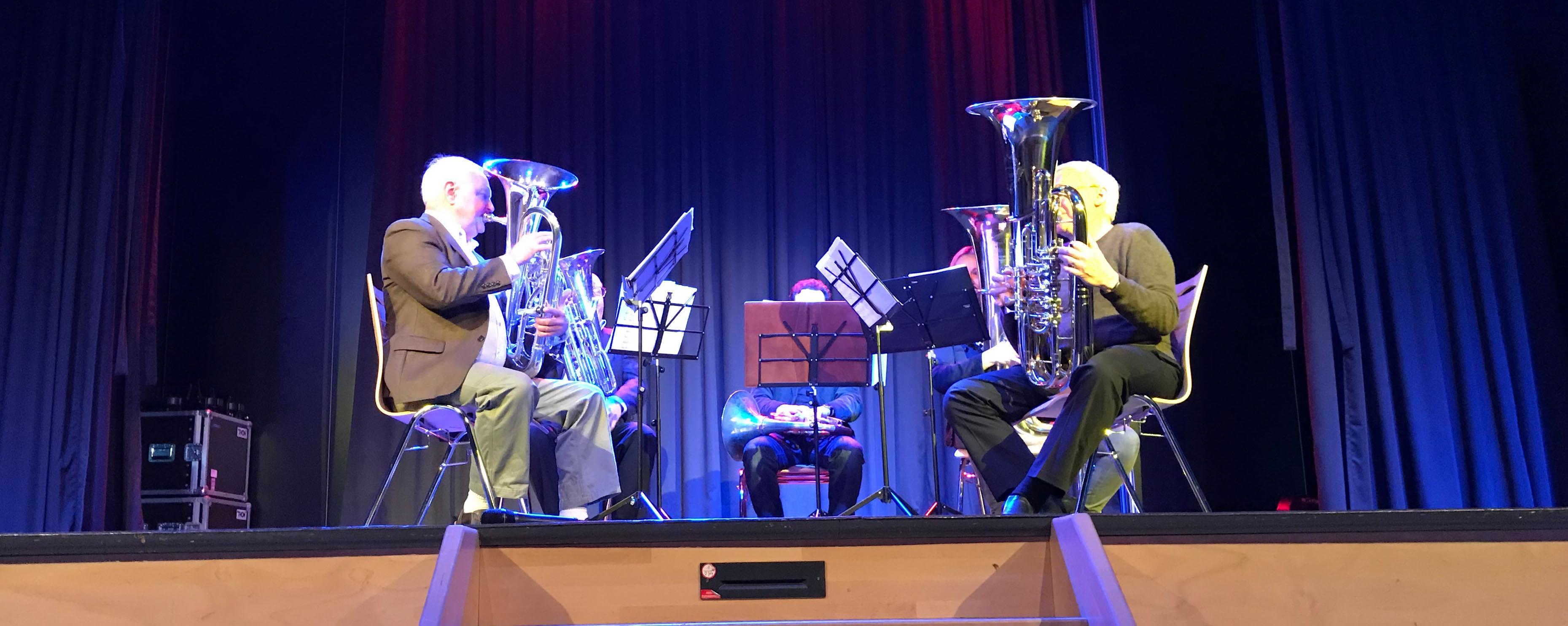 """Werkstattkonzert am 14.02.2019 mit dem """"Alchemy Tuba Euphonium Quartet"""""""