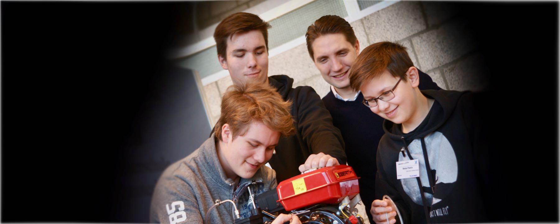 GAG-Schüler Im Spotlight: Ein Regionalsieg Und Zwei Dritte Plätze Bei Jugend-forscht-Regionalwettbewerb 2019
