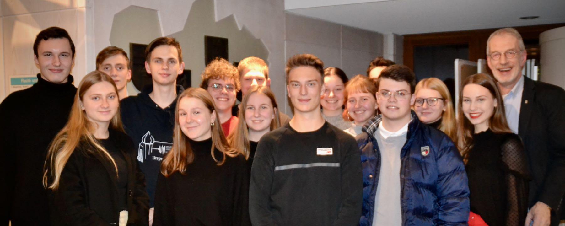 Besuch beim Kreistag des Landkreises Oldenburg